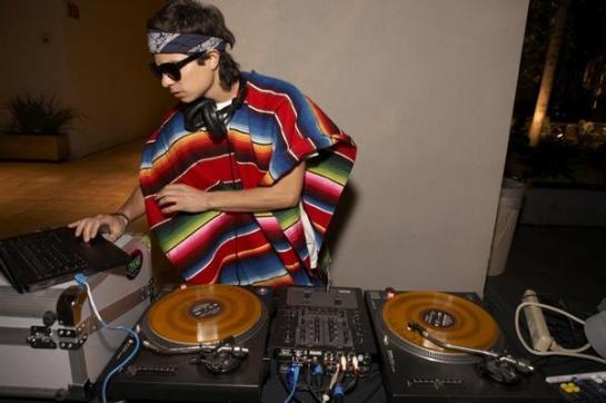 DJ Alf Alpha at The Flux Film Screening Hammer Museum