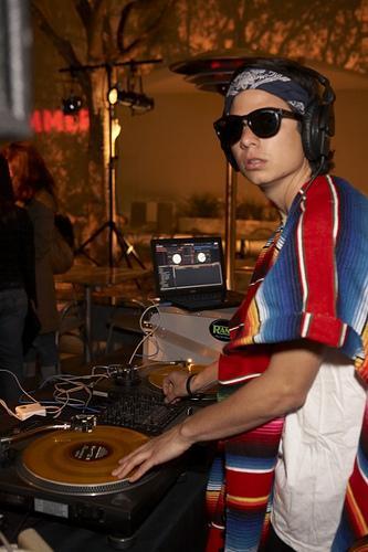 DJ Alf Alpha at The Flux Film Screening Hammer Museum LA