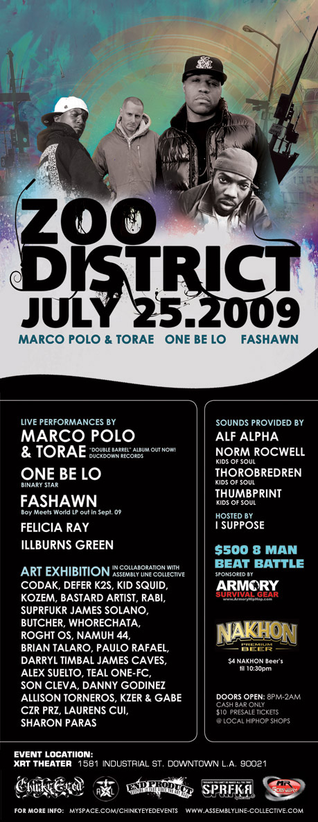 Zoo District Flyer
