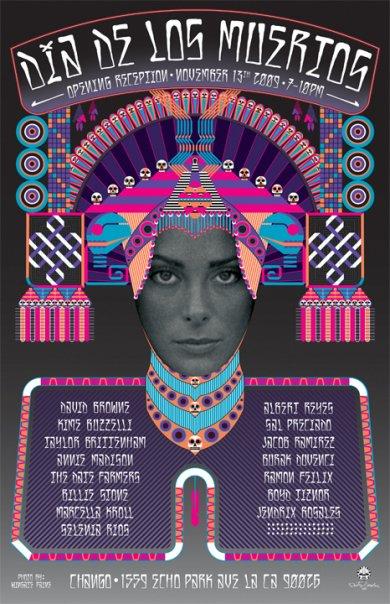 Dia de los Muertos Art Show in Echo Park @ Chango