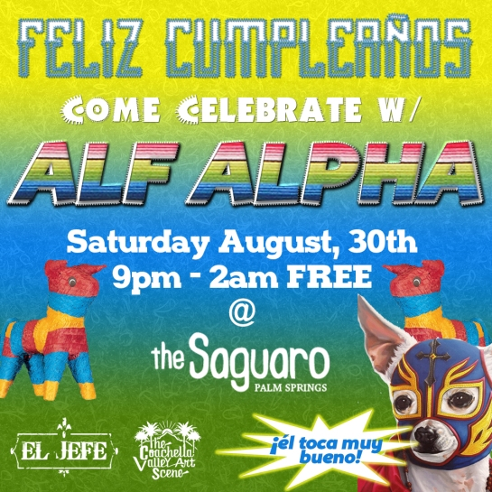 Alf Alpha at Saguaro Birhday Fiesta