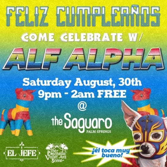Alf Alpha at Saguaro Birhday Fiesta