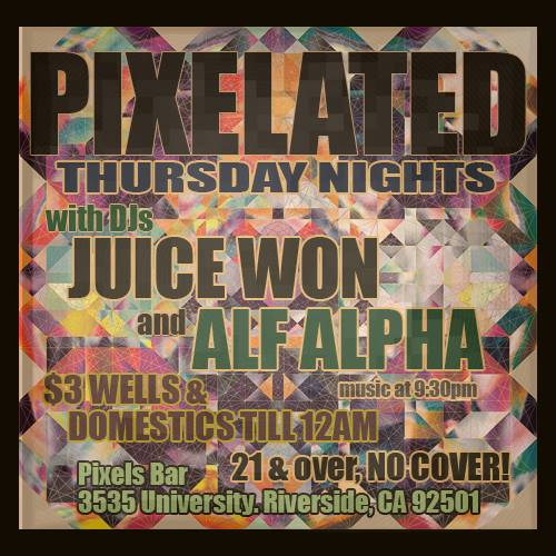 DJ Alf Alpha at Pixelated Riverside
