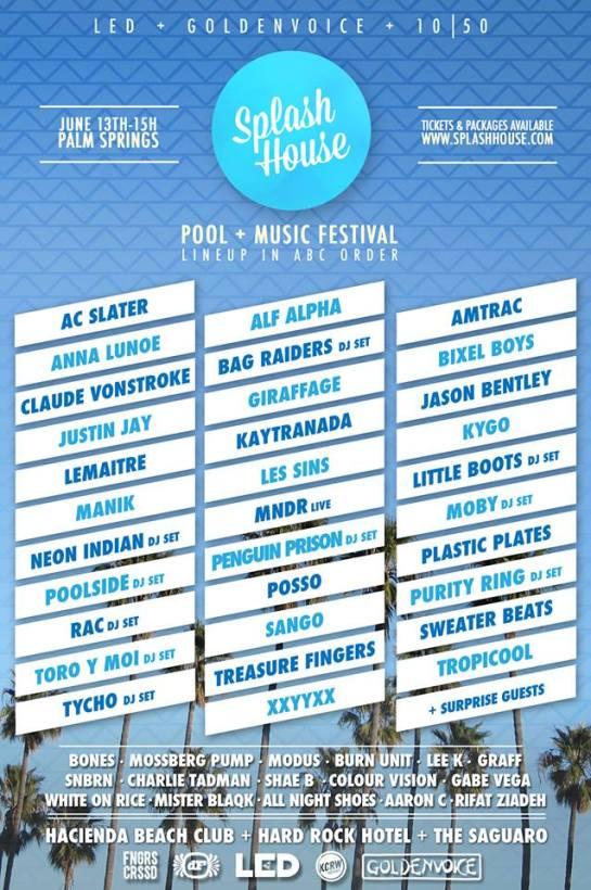 Splash House Music Fest 2014 with Alf Alpha