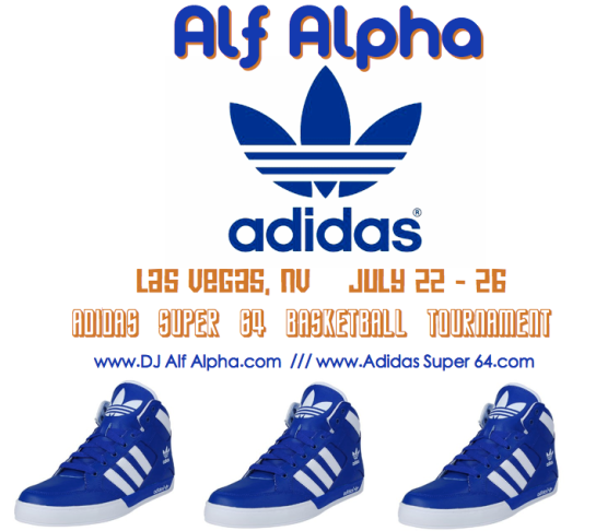 Adidas x Alf Alpha Super 64 Basketball Tournament in Las Vegas July 22-26th