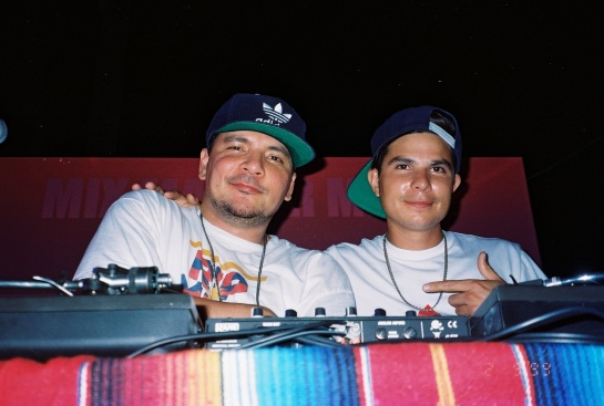 Mix Master Mike & Alf Alpha