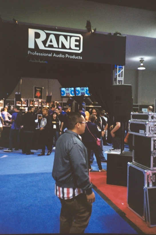 DJ Jimbo Jenkins at The Rane Serato Booth NAMM