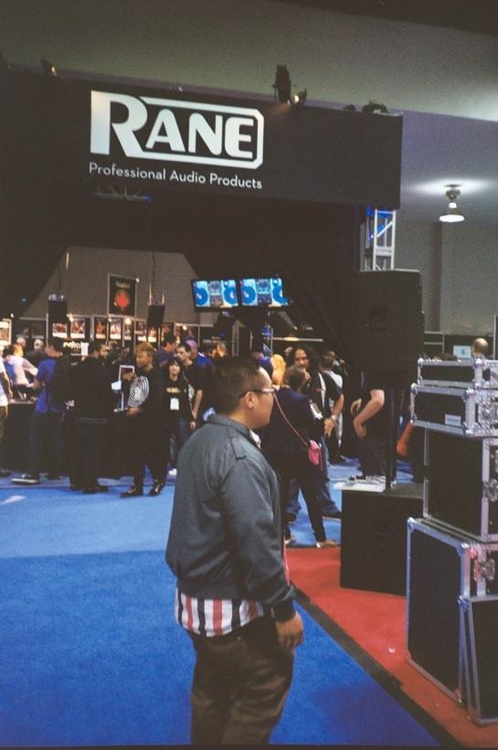 DJ Jimbo Jenkins at The Rane Serato Booth NAMM