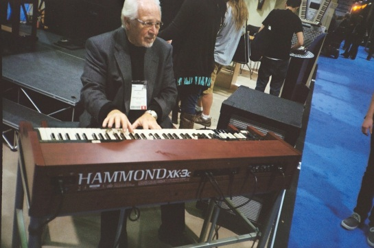 True Pleyer on the Hammond