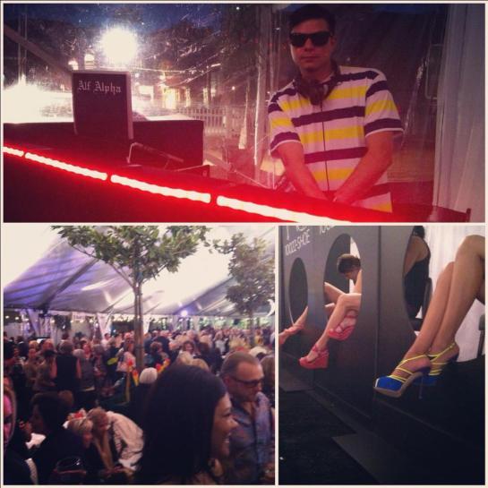 Fashion Week El Paseo with DJ Alf Alf Alpha