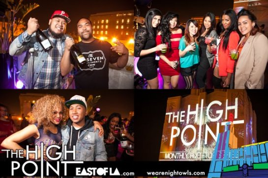 The High Point Roof Top Party with DJ Alf Alpha