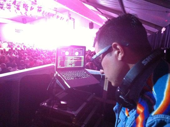 Fashion Week El Paseo 2012 with DJ Alf Alpha