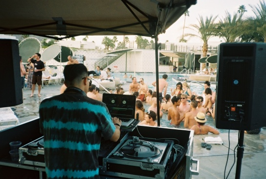 World Famous Pool Party with DJ Alf Alpha & The Coachella Valley Art Scene at The Ace Hotel Palm Springs