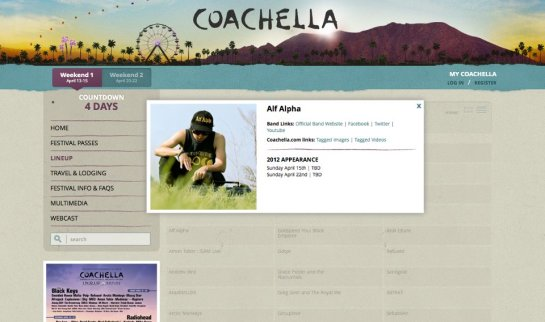 Alf Alpha at Coachella 2012