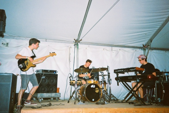 Badbadnotgood at Coachella Campgrounds