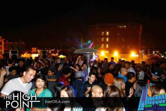 High Point Monthly Roof Top Party with DJ Alf Alpha - May 2012