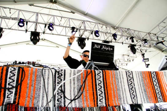 Alf Alpha at Coachella 2012 - Photo by Steven Preston