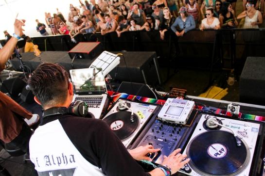 Alf Alpha at Coachella 2012 - Photo by Steven Preston