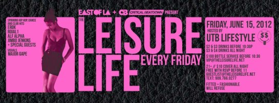 The Leisure Life with DJ Alf Alpha