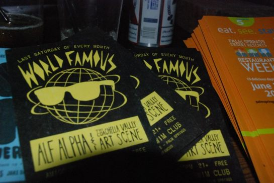 World Famous with Alf Alpha and The Coachella Valley Art Scene - May 2012