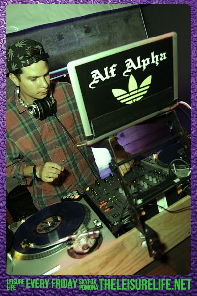 The Leisure Life Weekly Party with DJ Alf Alpha at The Sky Fox Lounge