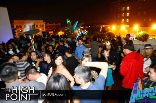 The High Point Monthly Roof Top Party with DJ Alf Alpha