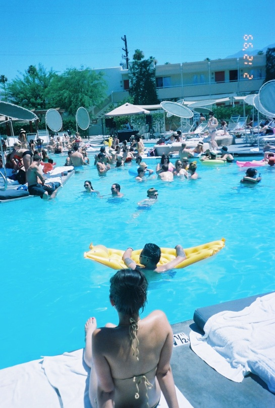 World Famous Pool Party with Alf Alpha and The Coachella Valley Art Scene at The Ace Hotel Palm Springs