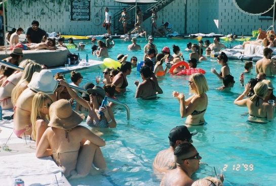World Famous Pool Party with DJ Alf Alpha and The CVAS at The Ace Hotel Palm Springs