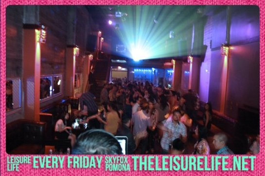 The Leisure Life Weekly Party with DJ Alf Alpha