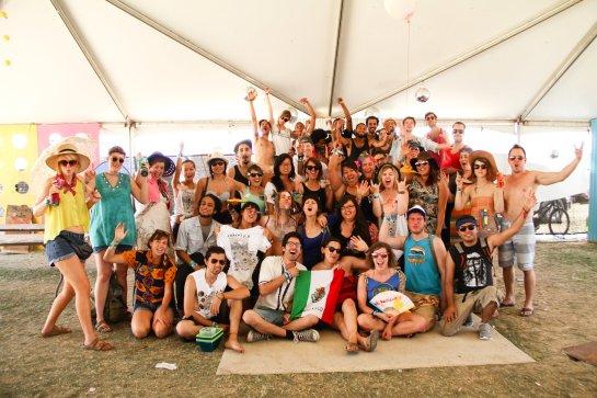 The Coachella Art Studios 2012 Crew