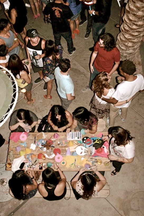 World Famous Dance and Craft Party with Alf Alpha and The Coachella Valley Art Scene