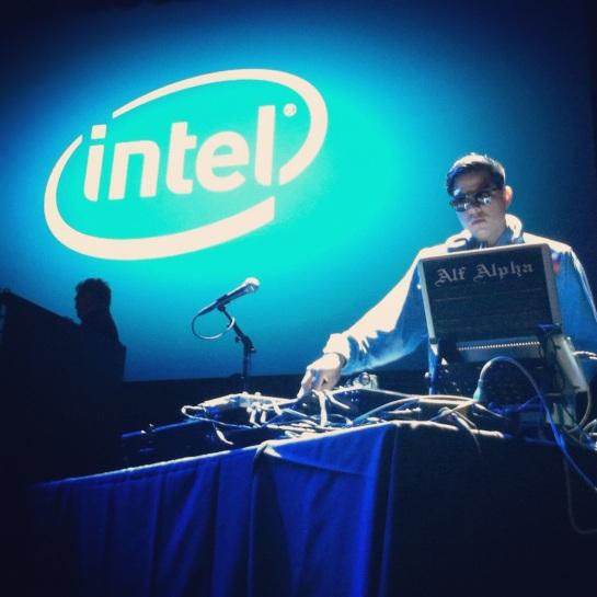 Alf Alpha at Intel Event