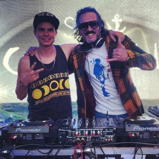 DJ Harvey and Alf Alpha SS Coachella 2012