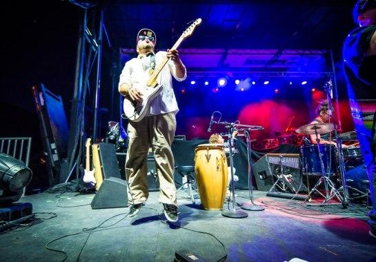 Alf Alpha y Los Pleyboyz Debut at Tachevah Block Party 2013 Photo by Chris Miller