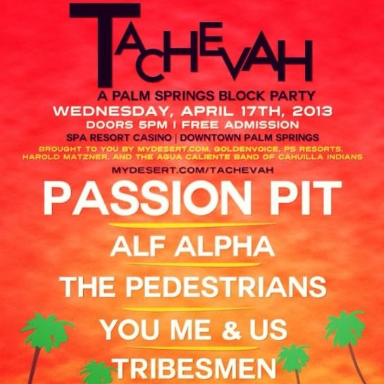 Tachevah Music Festival 2013 featuring Alf Alpha