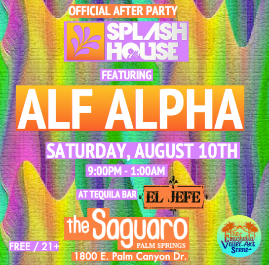 Splash House After Party with Alf Alpha
