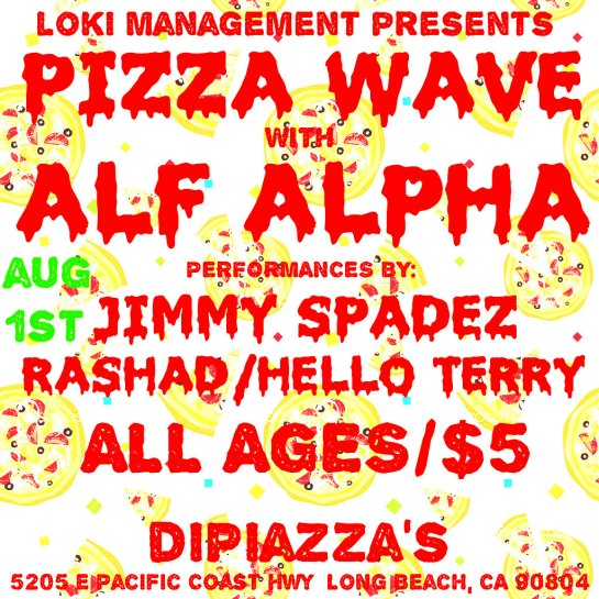 PizzaWave with Alf Alpha and Friends
