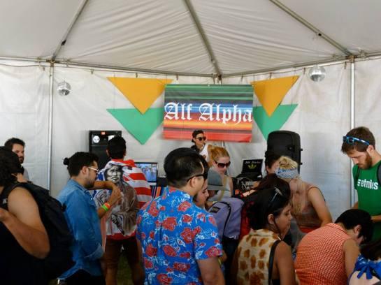 DJ Alf Alpha at Craft FYF Tent 2013 #CraftFYF