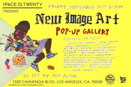 New Image Art Pop-Up @ Space 15 Twenty  with DJ Alf Alpha