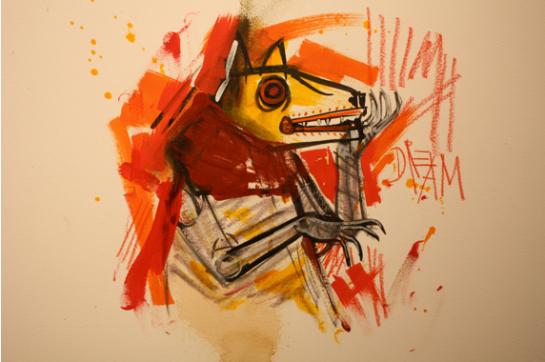Skull Phone at New Image Art Pop-Up Gallery @ Space 15 Twenty September 20, 2013