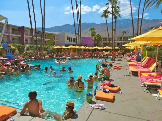 World Famous Pool Party with Alf Alpha & The Coachella Valley Art Scene at The Saguaro Hotel Palm Springs