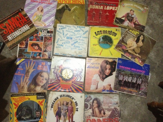 Record digging in Oaxaca