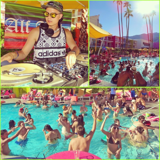 World Famous Pool Party with Alf Alpha and The Coachella Valley Art Scene