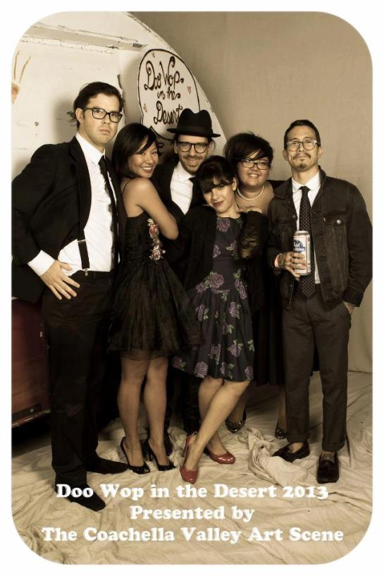 Doo Wop in the Desert 2014 with DJ Alf Alpha and The Coachella Valley Art Scene