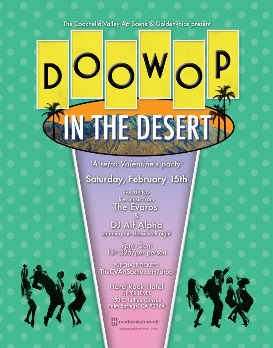 Doo Wop in the Desert 2014 with DJ Alf Alpha and The Coachella Valley Art Scene