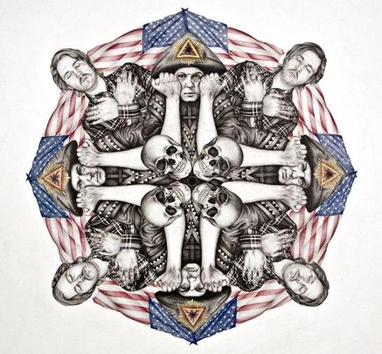 Art work by Derek Albeck