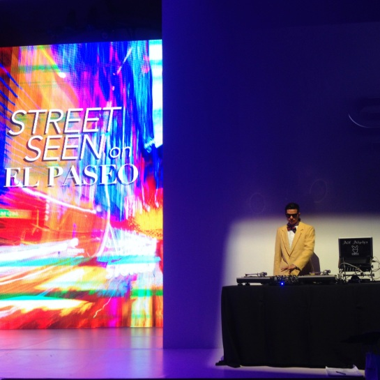 Fashion Week El Paseo 2014 with DJ Alf Alpha