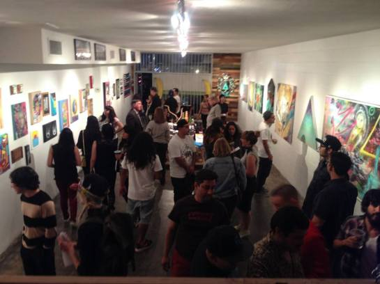 The Coachella Valley Art Scene presents Colors group art show closing party - May 21, 2014