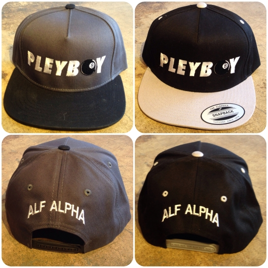 Alf Alpha Pleyboy Snap back Hats