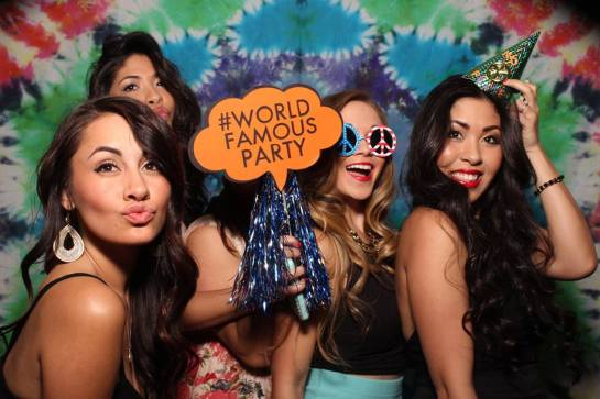 World Famous Party with Alf Alpha presented by Goldenvoice and The Coachella Valley Art Scene - Every last Saturday of the Month at Hard Rock Hotel Palm Springs